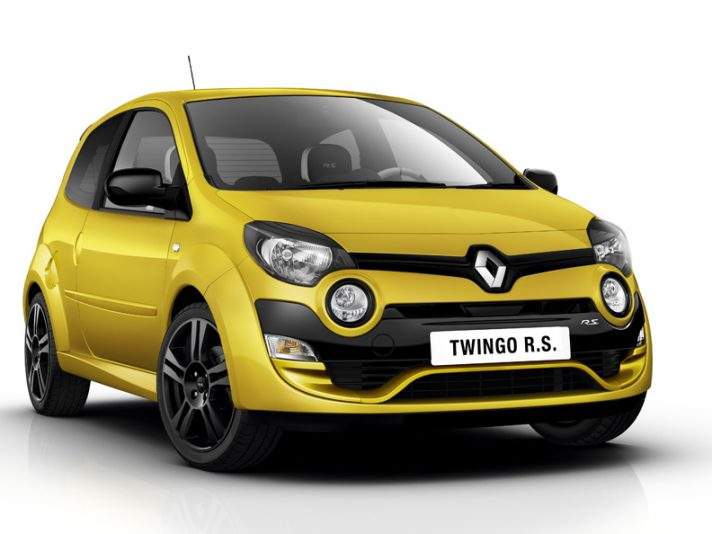 Renault Twingo R.S. - Frontale