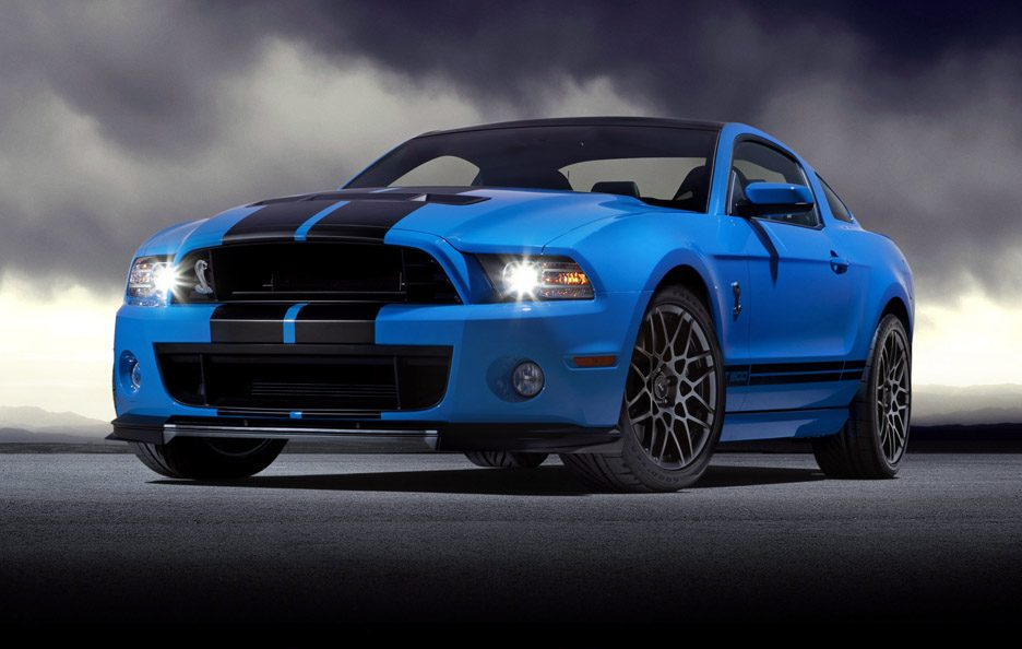 Shelby GT 500 - Frontale basso