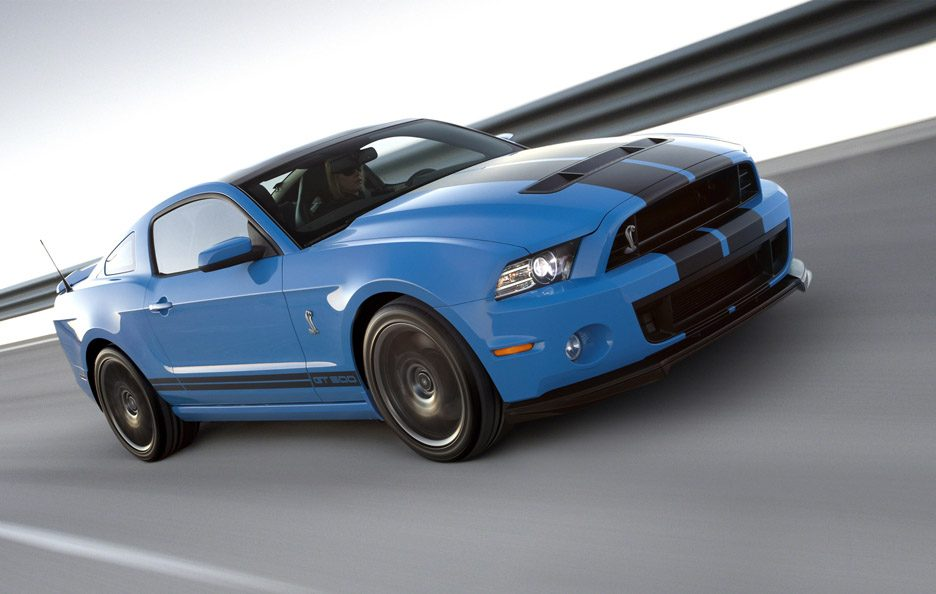 Shelby GT 500 - In motion