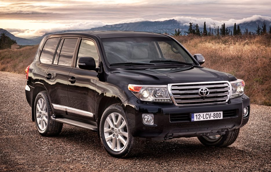 Toyota Land Cruiser MY 2012 - Profilo frontale