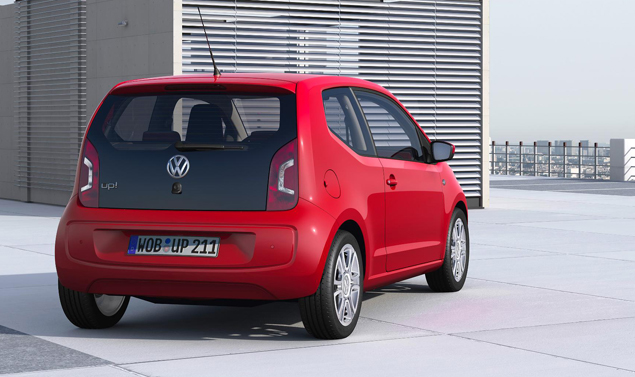 Volkswagen up - Red