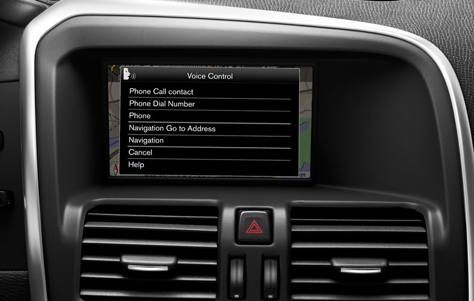 Volvo V60 Display