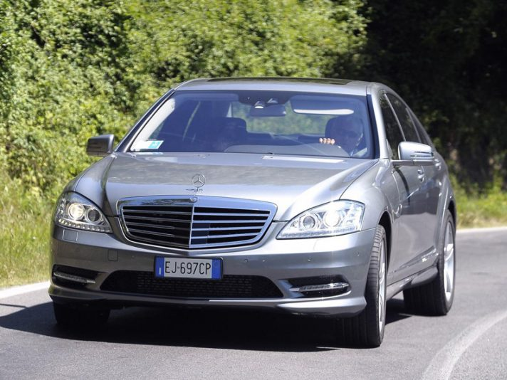 1 - Mercedes classe S W221 restyling