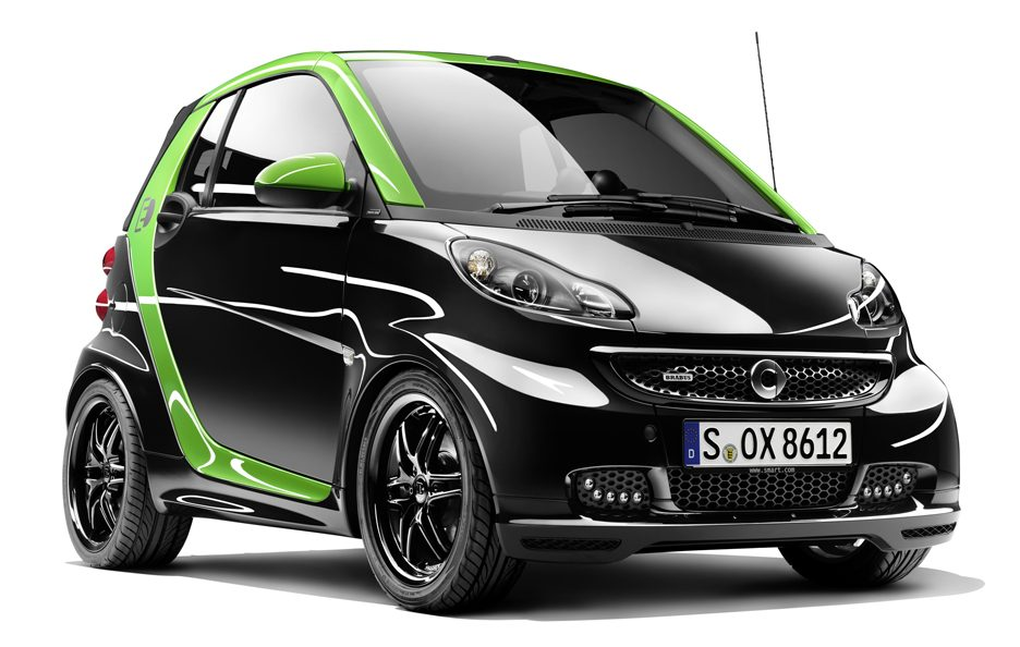 Smart Brabus Fortwo Electric Drive - Frontale