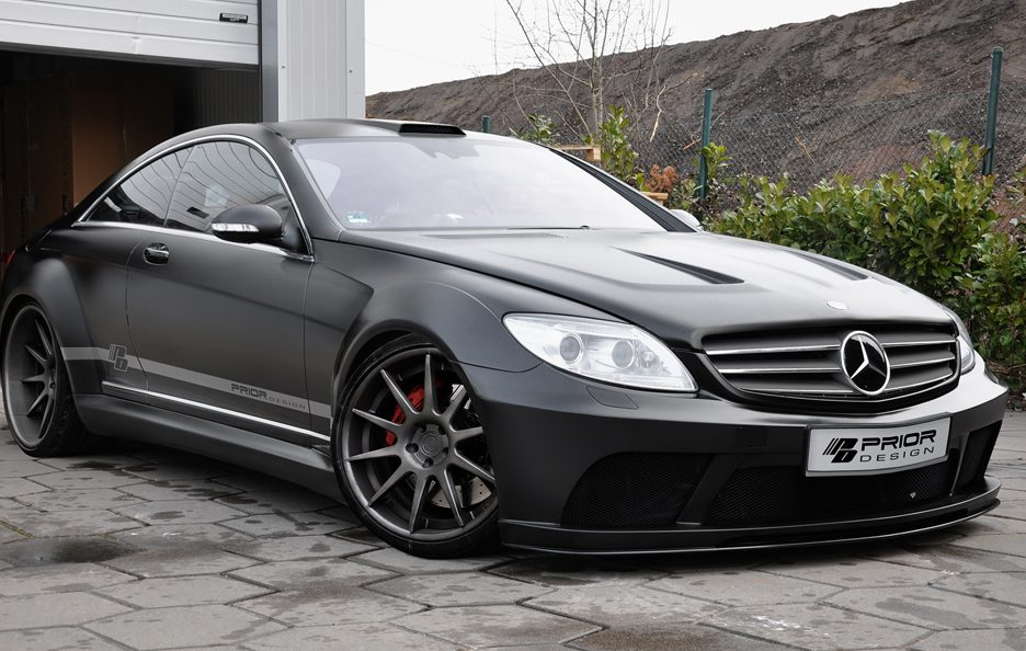Prior Design - Mercedes CL Blackedition - Profilo frontale