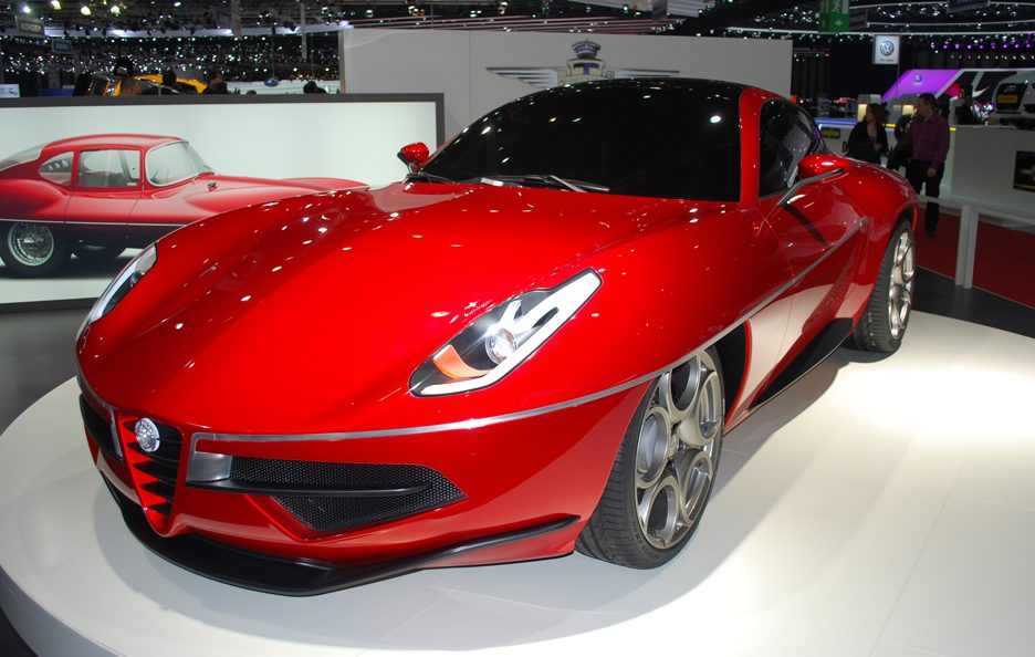 Ginevra 2012 - Touring Superleggera Disco Volante 2012