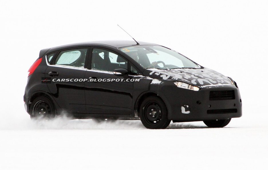 Ford Fiesta 2013 - Foto Spia Restyling - Laterale