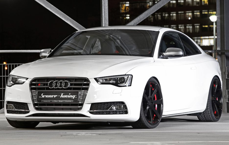 Audi S5 Coupe 2012 by Senner - Profilo frontale