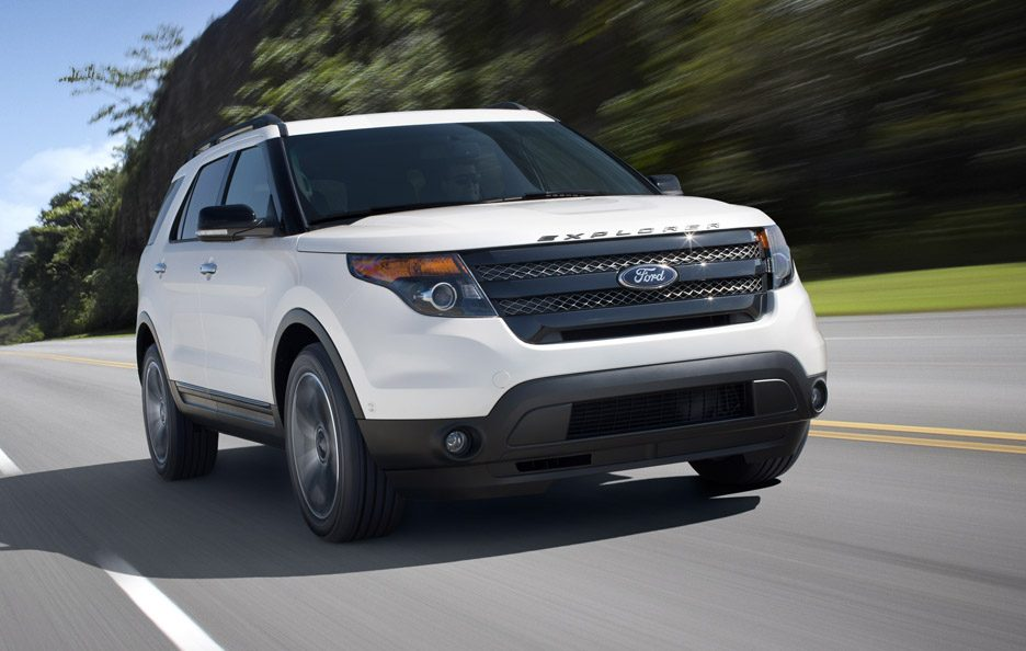 Ford Explorer Sport - Frontale in motion