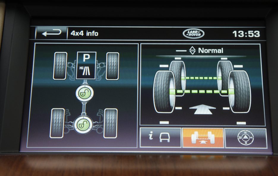 15 - Land Rover Discovery 4 touch screen