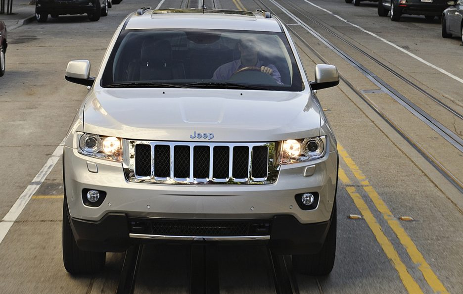 2 - Jeep Grand Cherokee WK2 frontale