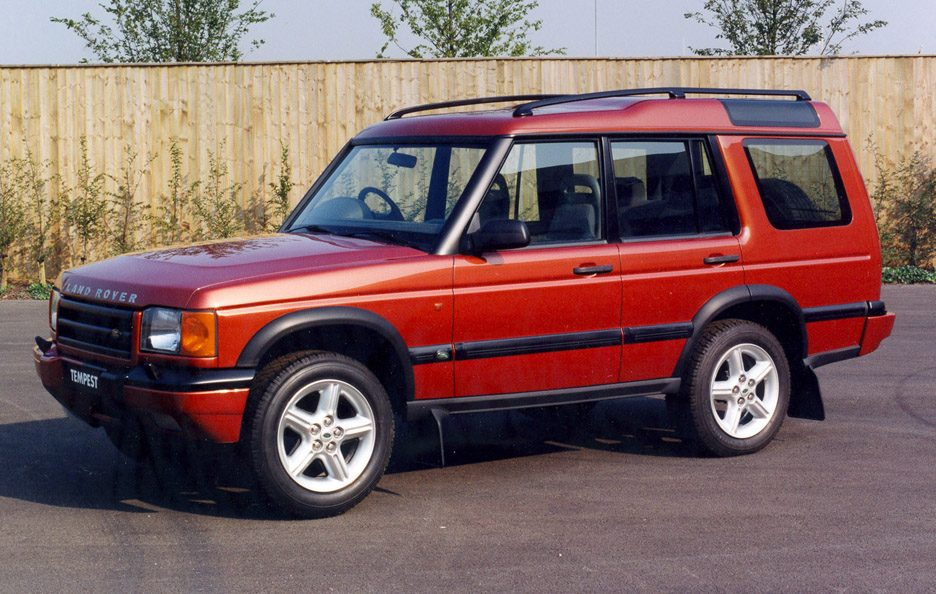 22 - Land Rover Discovery Series 1 restyling