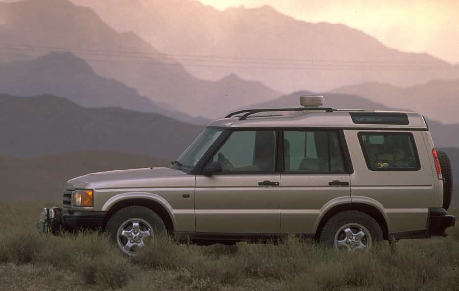 23 - Land Rover Discovery Series 1 restyling profilo