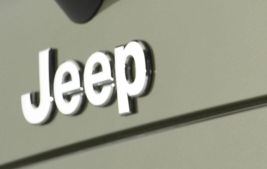 41 - Jeep Grand Cherokee WK logo Jeep