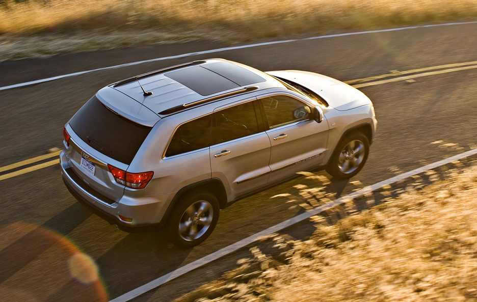 5 - Jeep Grand Cherokee WK2 vista dall'alto