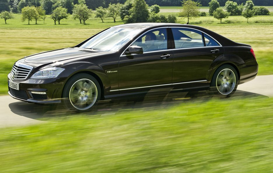 7 - Mercedes classe S W221 restyling AMG