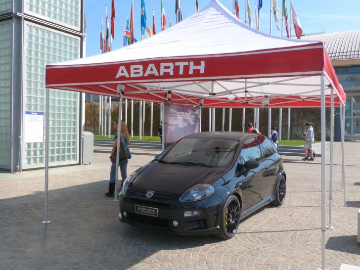 Il raduno Abarth al My Special Car 2012