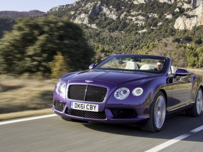 Nuova Bentley Continental GTC V8 Cabrio