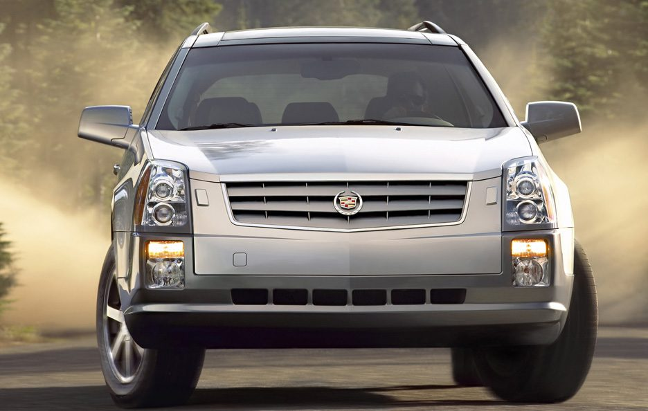 Cadillac SRX frontale