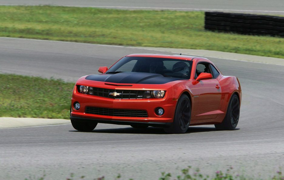 Chevrolet Camaro 1LE - Red - Frontale