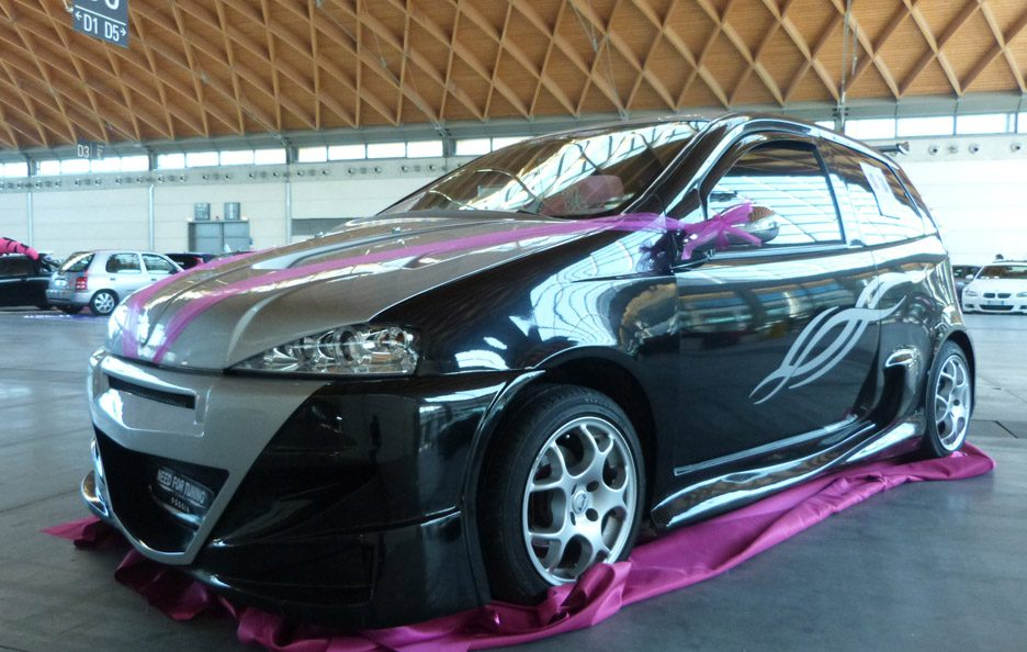 Fiat Punto Need for Tuning - laterale