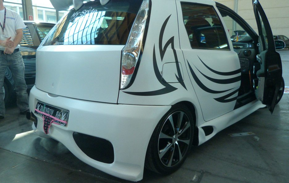 Fiat Punto Playboy - laterale