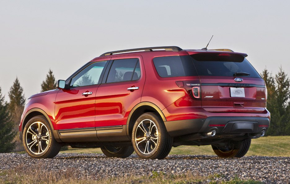 Ford Explorer Sport - RED - Il retrotreno