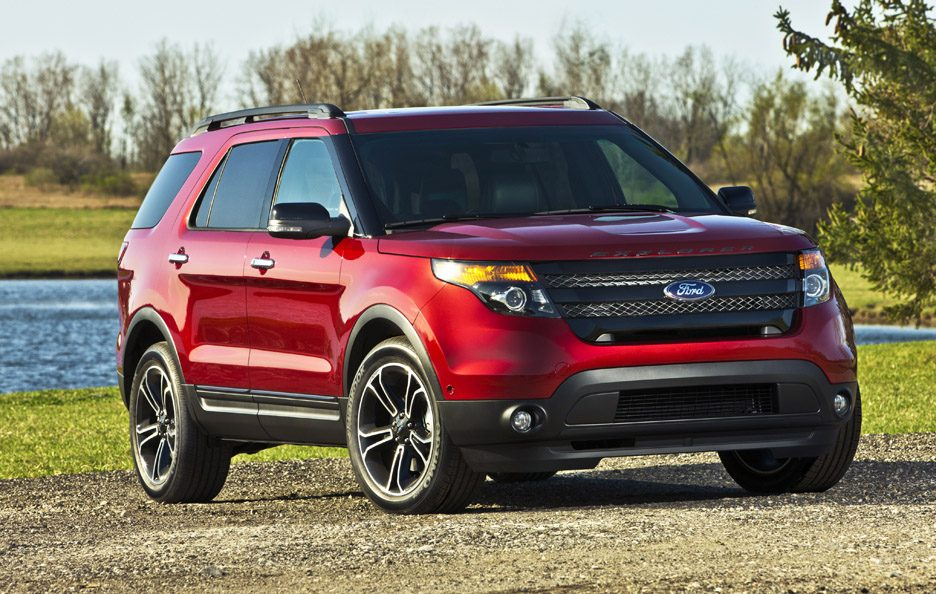 Ford Explorer Sport - RED - Linee