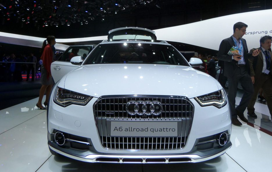 Ginevra 2012 - Audi A6 allroad frontale