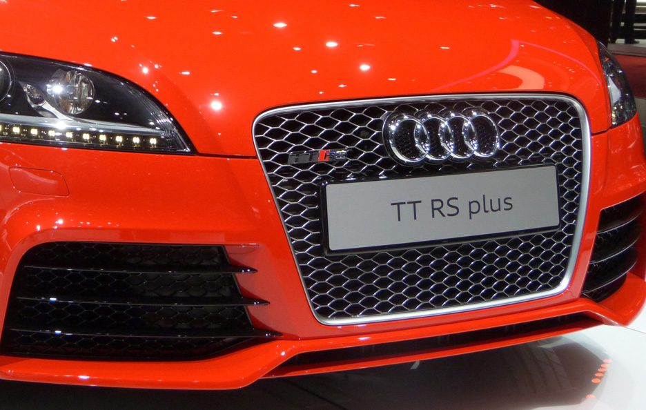 Ginevra 2012 - Audi TT RS Plus mascherina
