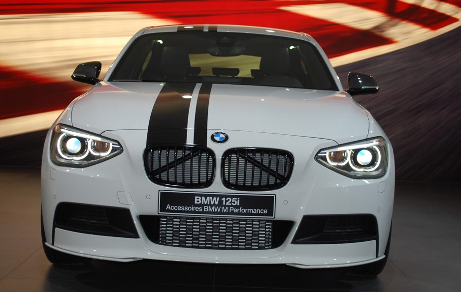 Ginevra 2012 - BMW serie 1 M Performance frontale 2