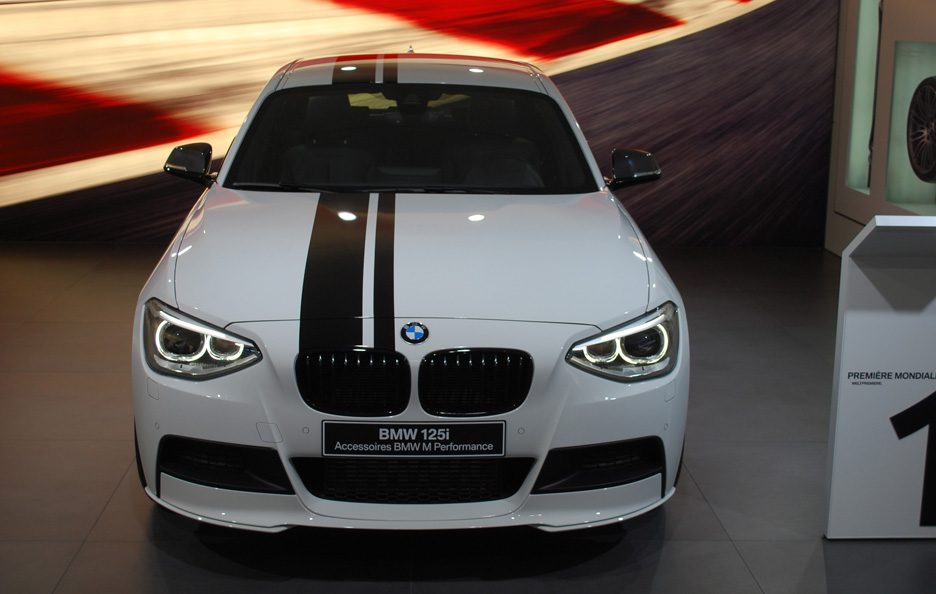 Ginevra 2012 - BMW serie 1 M Performance frontale
