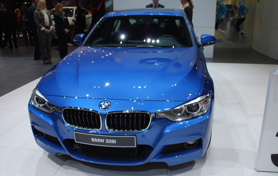 Ginevra 2012 - BMW serie 3 Pack Sport M frontale