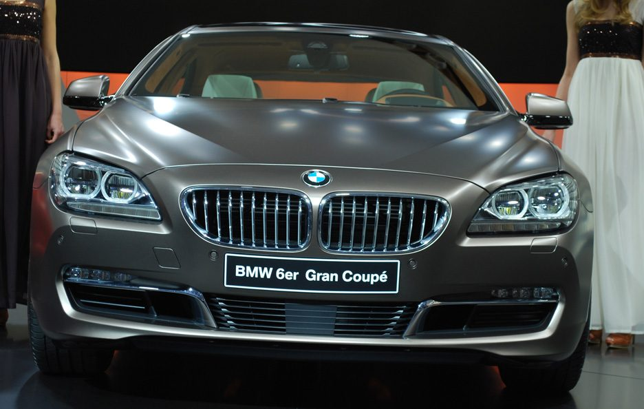 Ginevra 2012 - BMW serie 6 Gran Coupé frontale 4