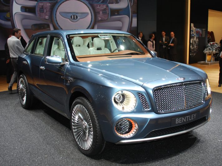 Ginevra 2012 - Bentley EXP 9 F
