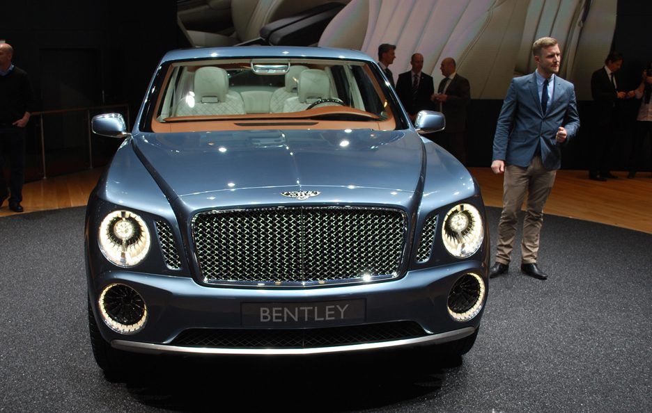 Ginevra 2012 - Bentley EXP 9 F frontale