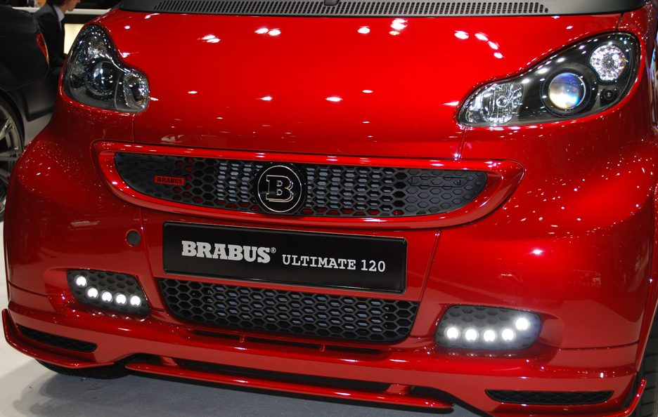 Ginevra 2012 - Brabus - Smart Ultimate 120 - Calandra
