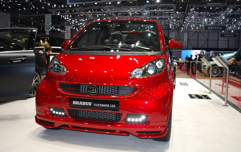 Ginevra 2012 - Brabus - Smart Ultimate 120 - Frontale