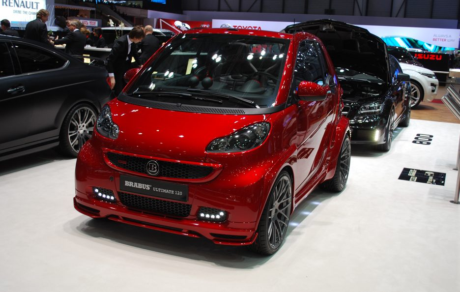 Ginevra 2012 - Brabus - Smart Ultimate 120 -  Linea