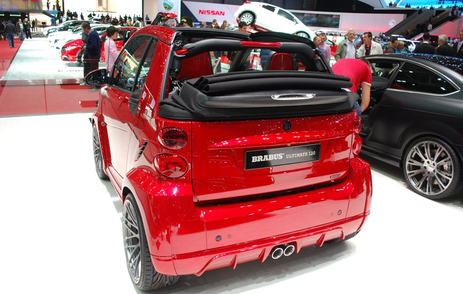 Ginevra 2012 - Brabus - Smart Ultimate 120 - Posteriore