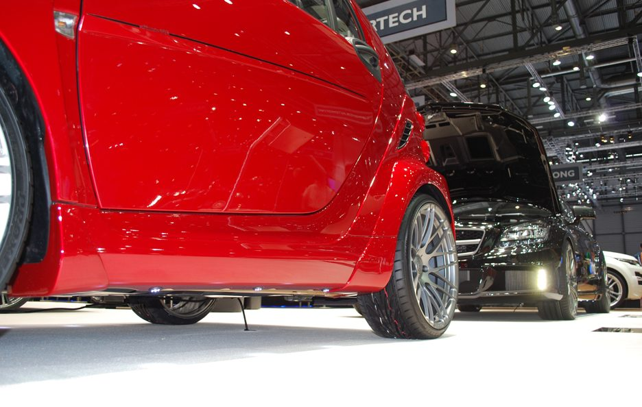 Ginevra 2012 - Brabus - Smart Ultimate 120 - Stacco laterale
