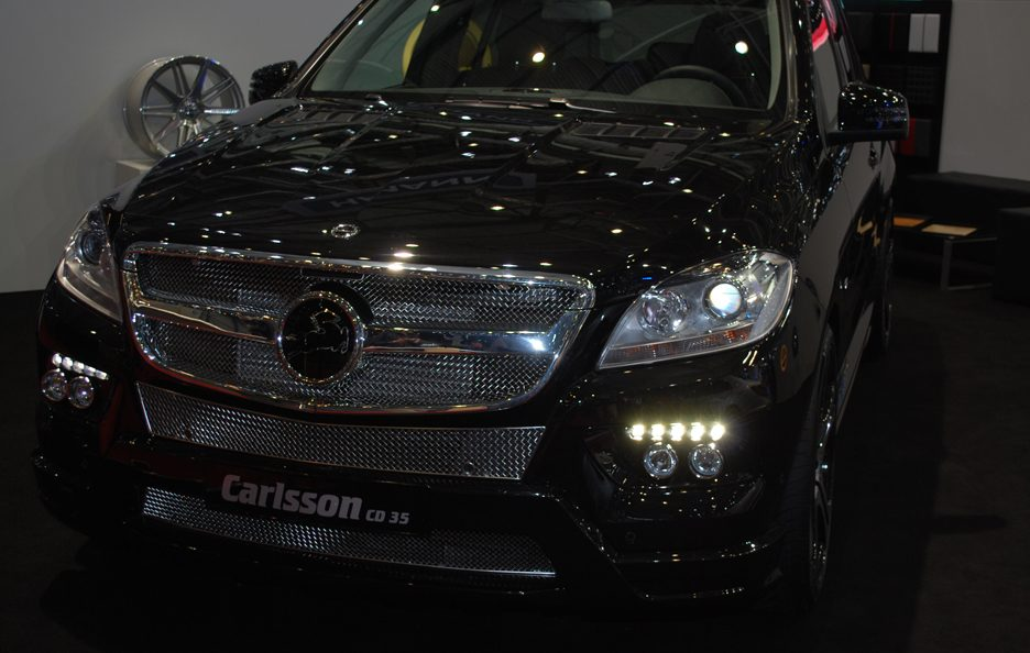 Ginevra 2012 - Carlsson - Mercedes ML CD35 - Calandra