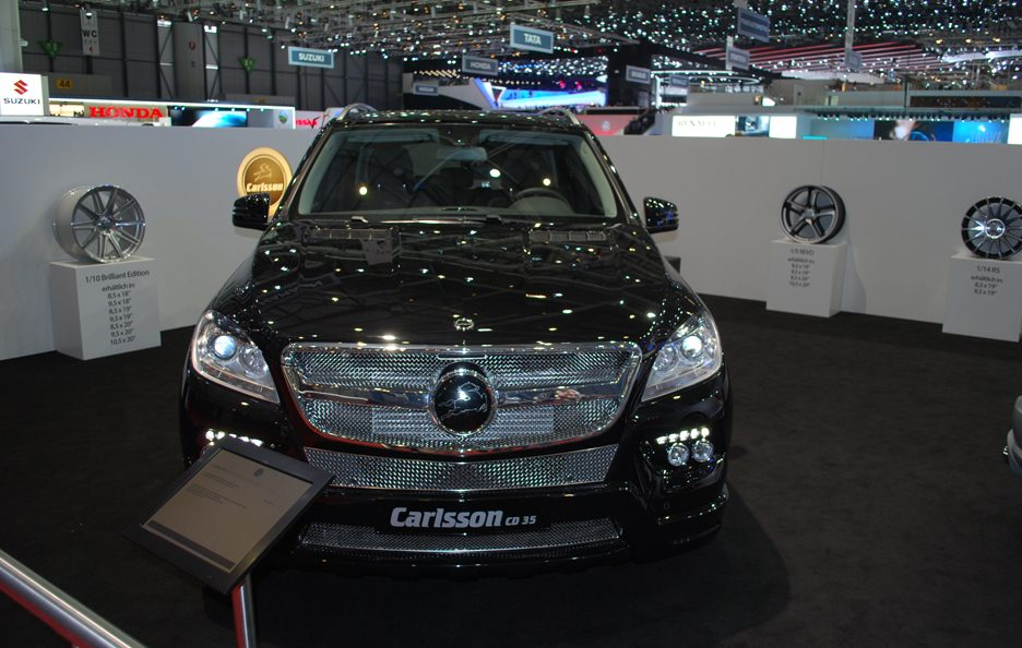 Ginevra 2012 - Carlsson - Mercedes ML CD35 - Frontale