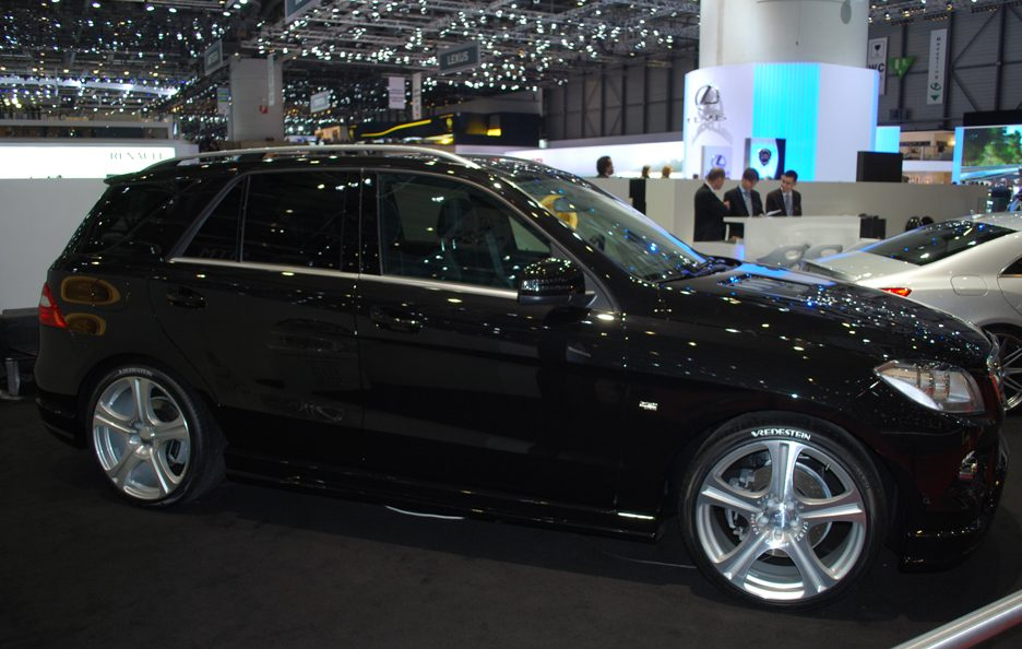 Ginevra 2012 - Carlsson - Mercedes ML CD35 - Laterale