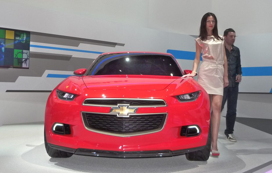 Ginevra 2012 - Chevrolet Code 130R Concept frontale
