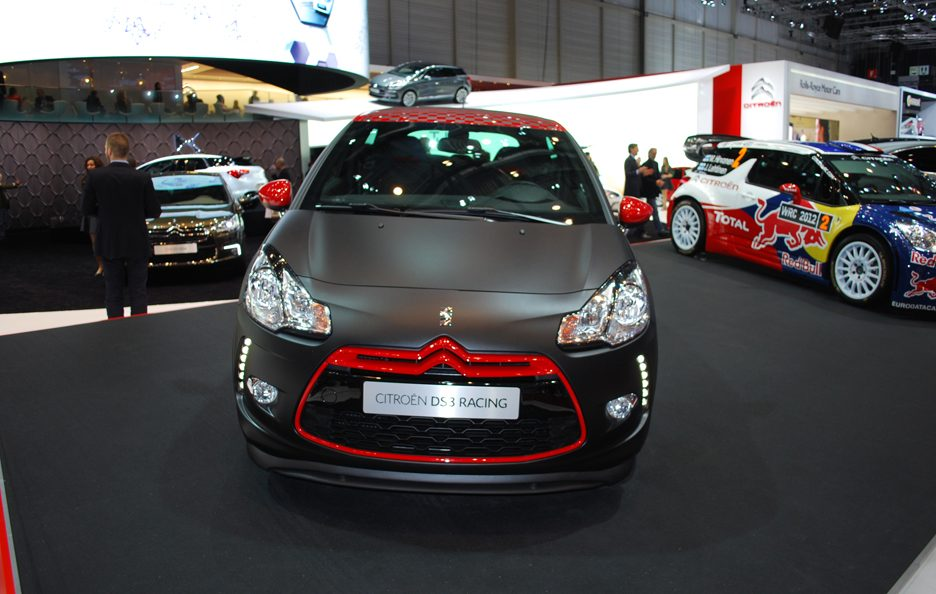 Ginevra 2012 - Citroen - DS3 Racing - L'anteriore