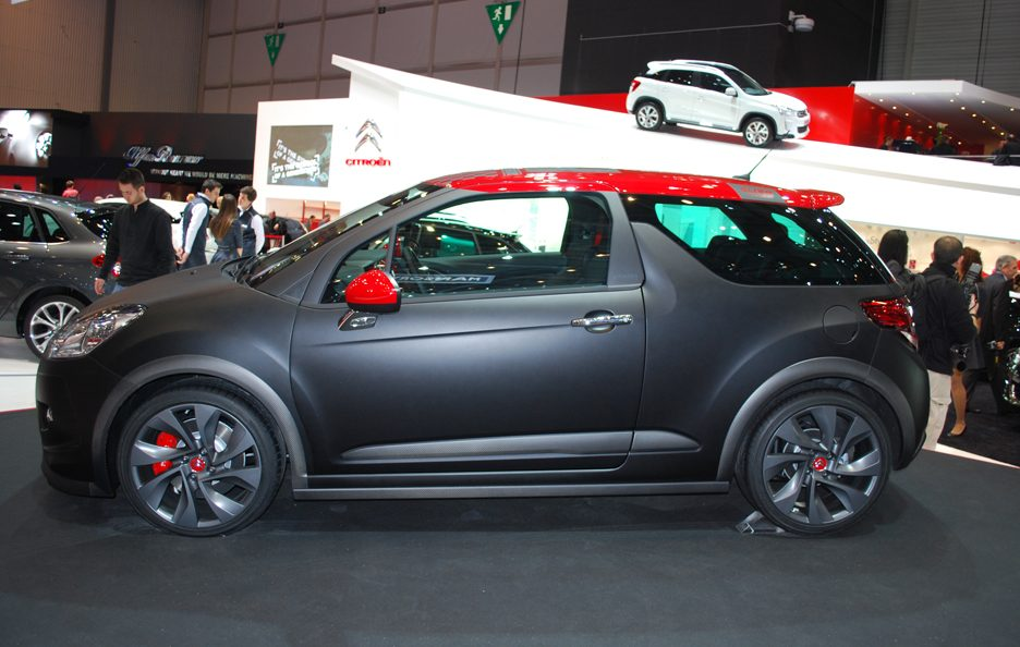 Ginevra 2012 - Citroen - DS3 Racing - La fiancata