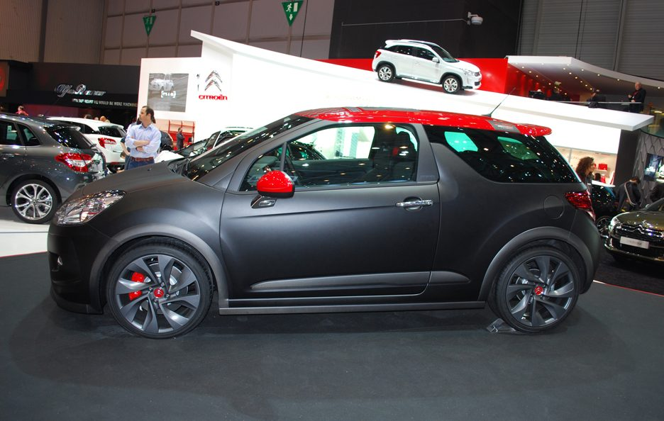Ginevra 2012 - Citroen - DS3 Racing - Laterale