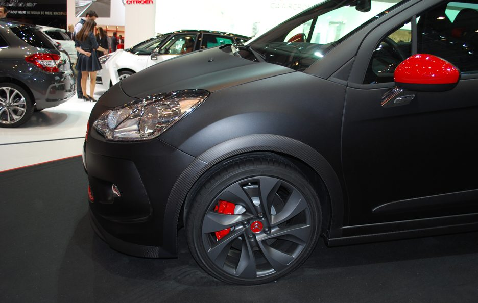 Ginevra 2012 - Citroen - DS3 Racing - Laterale anteriore