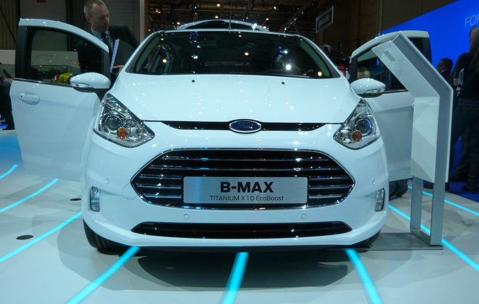 Ginevra 2012 - Ford B-Max frontale